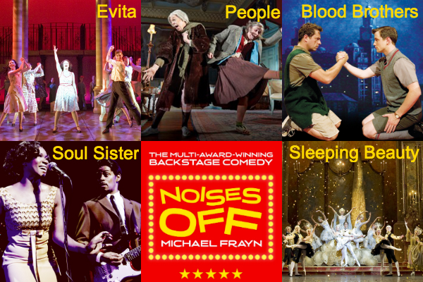 Production images from 6 of our summer shows.