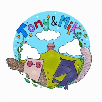 Logo design for 'Tony and Mike' Children's theatre show