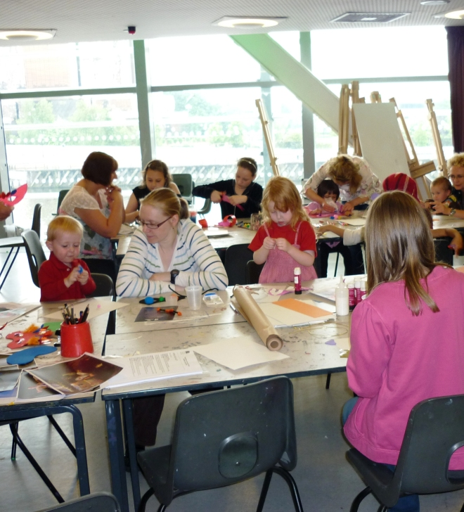 Half term at The Lowry