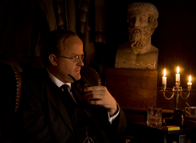 Robert Lloyd Parry as M R James 6 credit Shelagh Bidwell