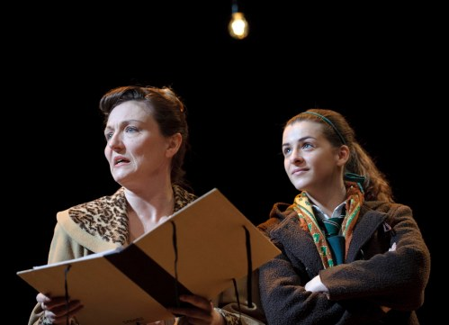 Julie Riley as Helen and Rebecca Ryan as Jo