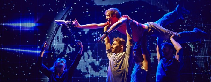 THE CURIOUS INCIDENT OF THE DOG IN THE NIGHT-TIMELondon Cast 2014/15
