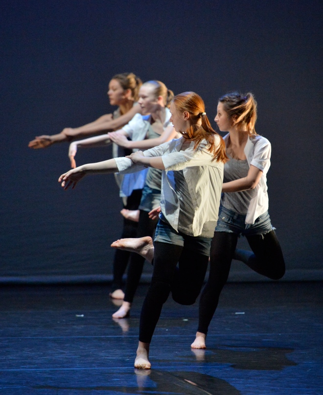 'Danielle Pollitt-Walmsley Performs with Commotions Youth Dance Company'