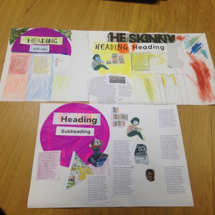 Young Carer's start the design process for an online educational tool to raise awareness.