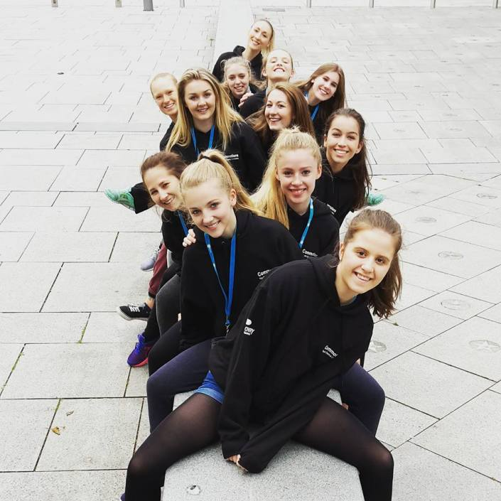 Commotions Girls Youth Dance Company at U.Dance 2015
