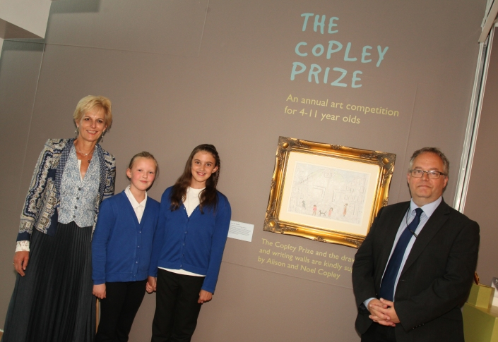 The Copley Prize at the Lowry for further information see press release