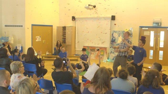 Celebration event at New Park School