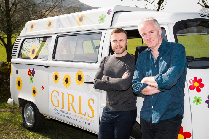 Gary Barlow & Tim Firth credit Matt Crockett