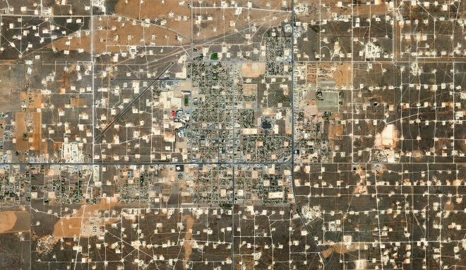 Mishka Henner, Wasson Oil and Gas Field, Yoakum County, Texas, 2013-2014