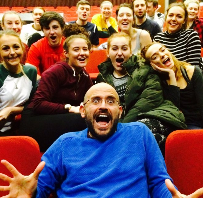 Theatre Ad with Salford Students