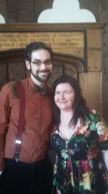 Me and John Savournin aka Dr Dulcamara at Ordsall Hall