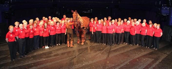 Lowry VIPs meet Joey The War Horse