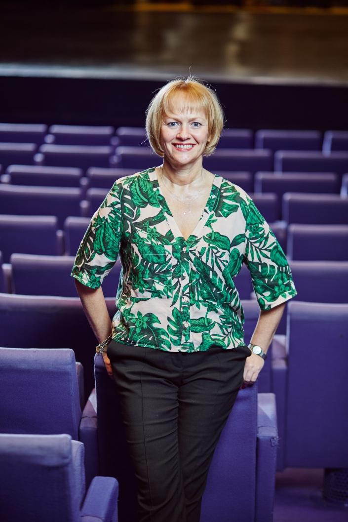 Julia Fawcett OBE - Lyric Theatre - Portrait
