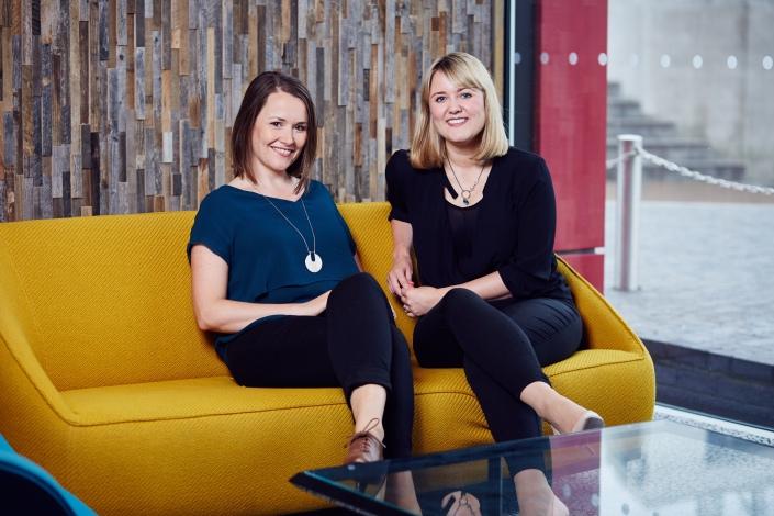 Rhiannon Mckay-Smith & Gwen Oakden - Directors of Development - The Lowry - Landscape