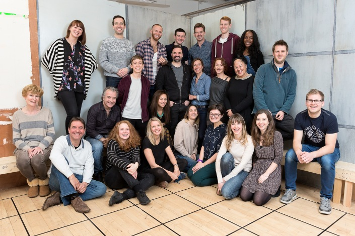 Curious Incident of the Dog in the Night-time - touring cast