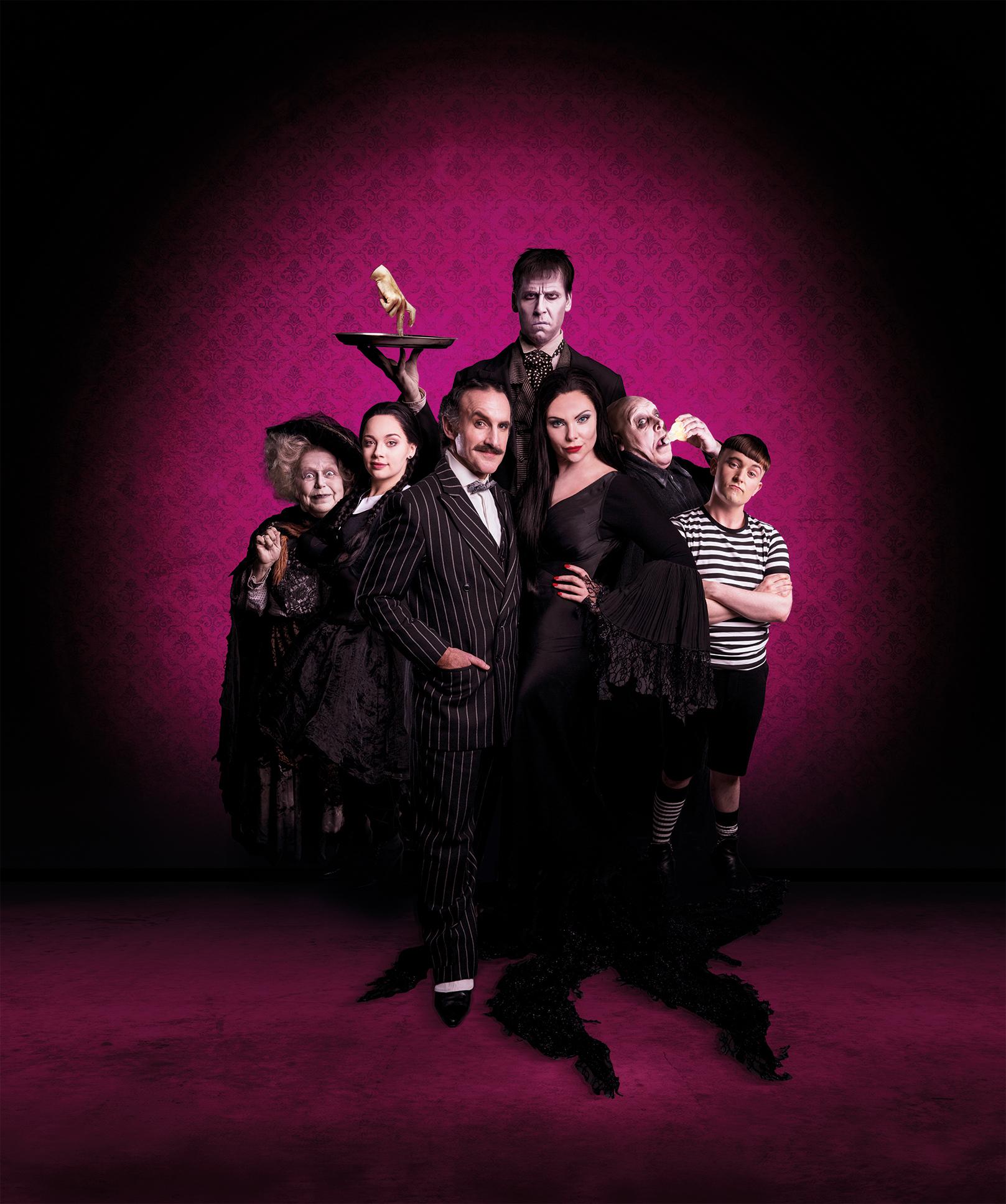 The Addams Family: Les Dennis Q&A