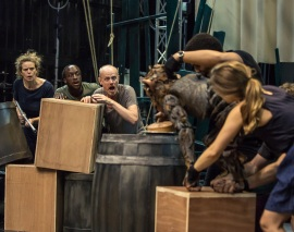 The Hartlepool Monkey Rehearsals Photo Credit: The Other Richard
