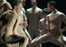 Alexis Fletcher and Artists of Ballet BC in Bill. Photo by Cindi Wicklund.