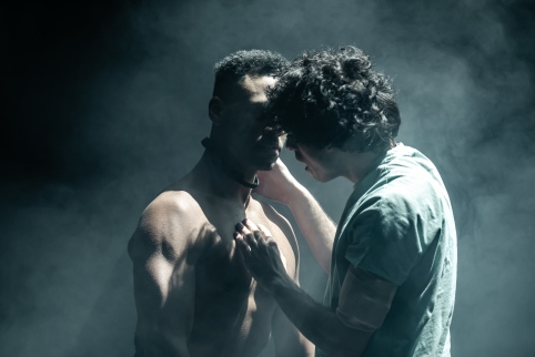 EQUUS. Ira Mandela Siobhan (Nugget) and Ethan Kai (Alan Strang) Image The Other Richard