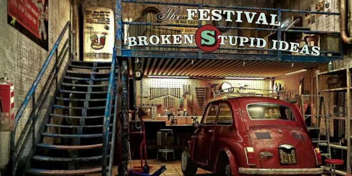 Spymonkey's Festival of Broken Stupid Ideas